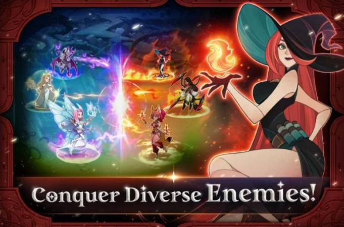 AFK Arena - Gameplay with Conquer Diverse Enemies